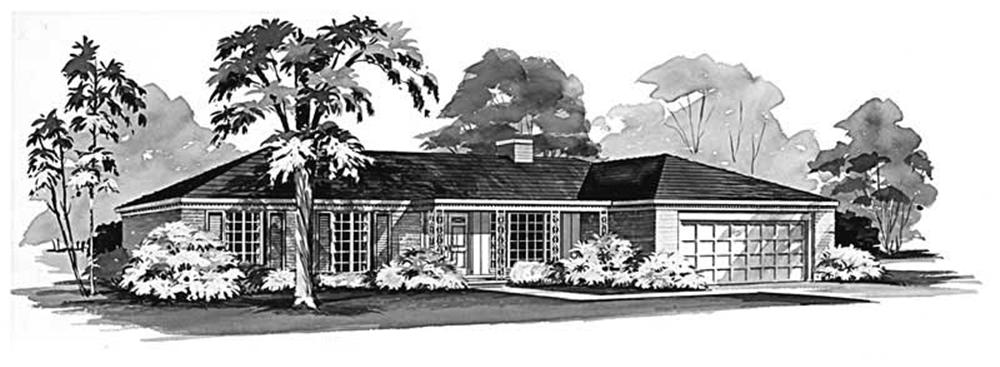 Main image for house plan # 17268