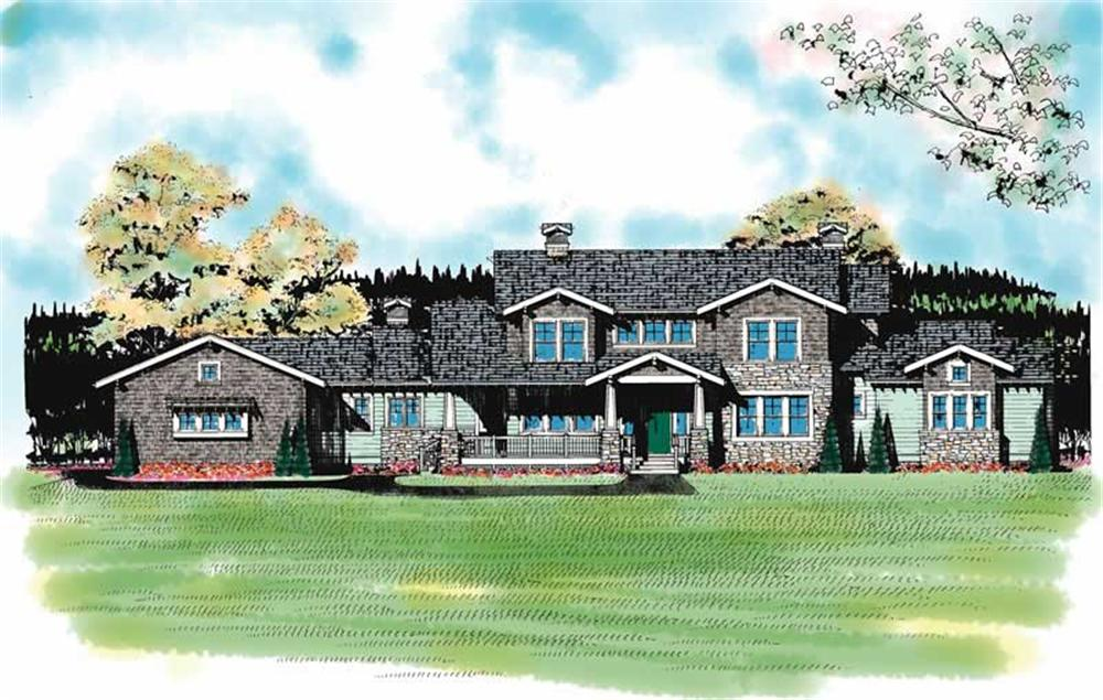 Main image for house plan # 17941