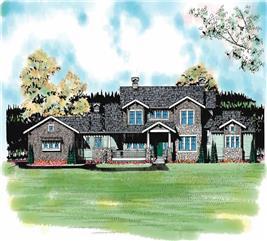 House Plan #137-1237