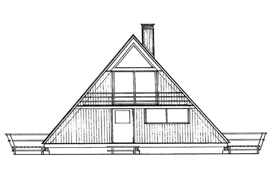 Main image for house plan # 17276