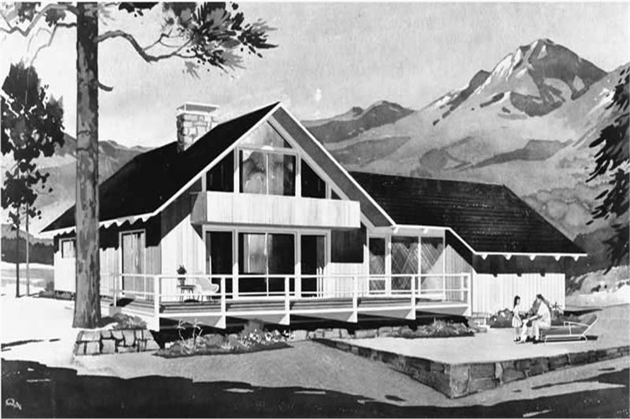 Main image for house plan # 17279