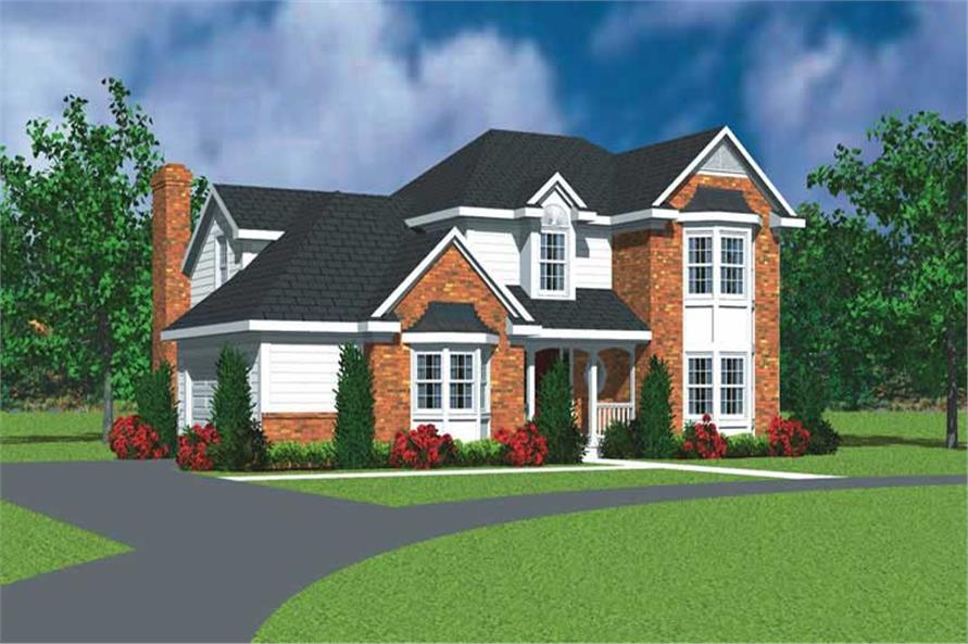 Main image for house plan # 17926