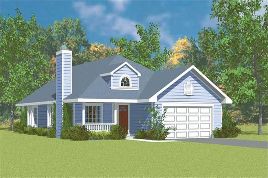 Main image for house plan # 17922