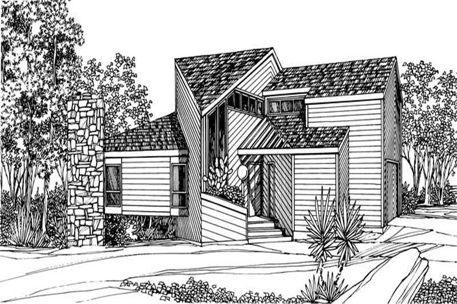 Main image for house plan # 17966