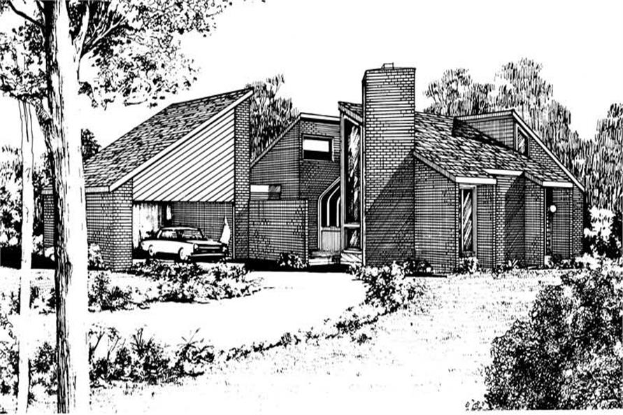 Main image for house plan # 17965