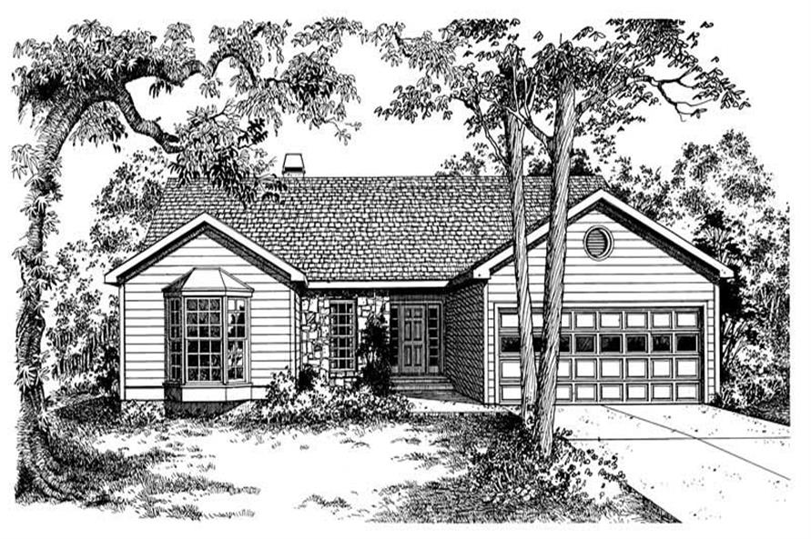 Main image for house plan # 17955