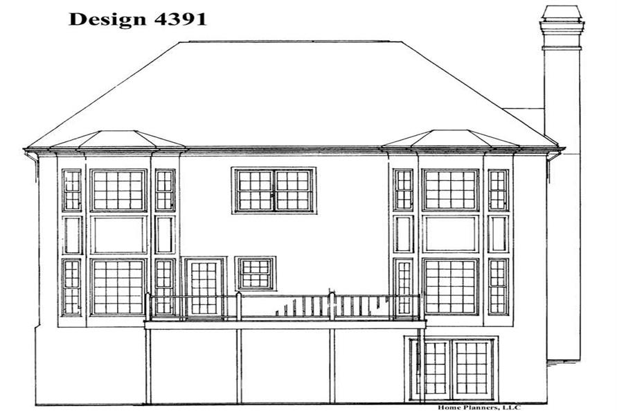 House Plan #137-1260
