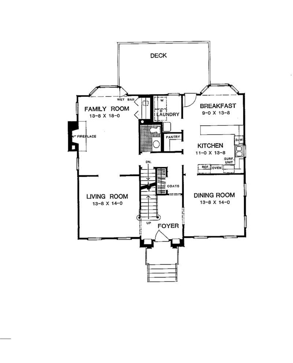 Large Images For House Plan 137 1260