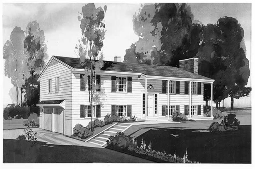 Main image for house plan # 17254