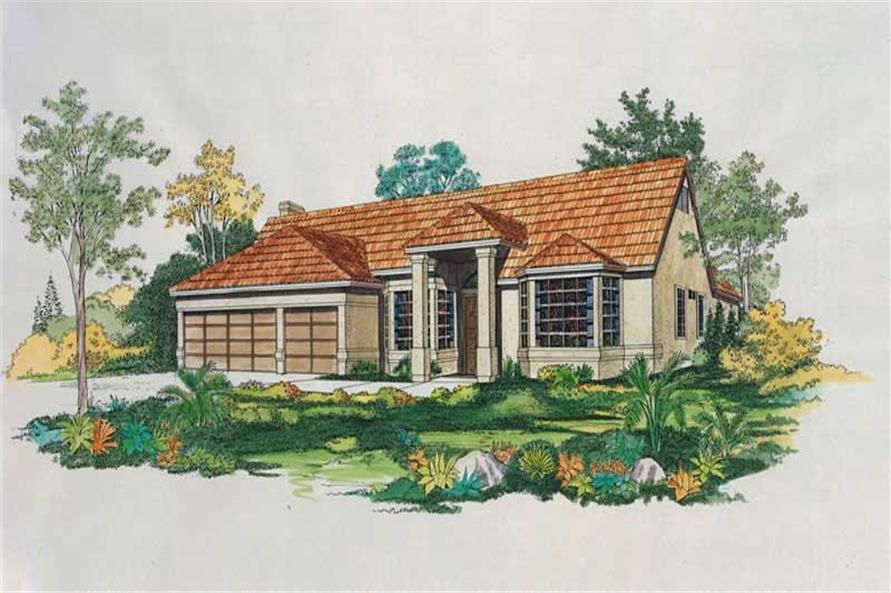 Main image for house plan # 18435