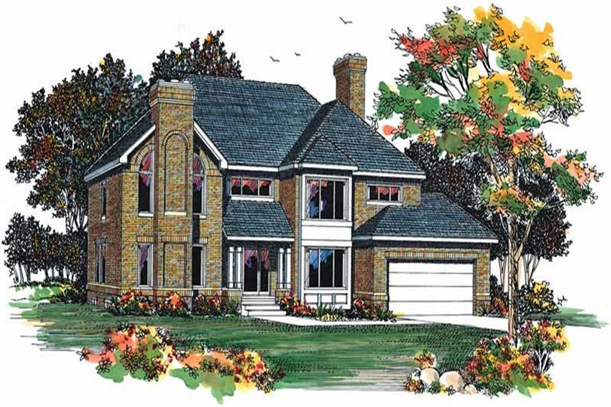 Main image for house plan # 18461