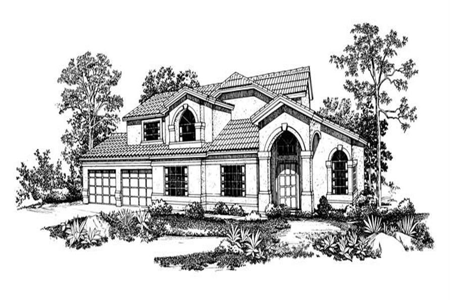 Main image for house plan # 18462
