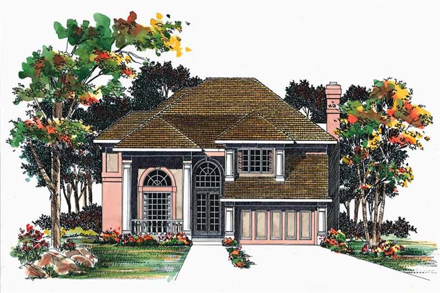 4-Bedroom, 2570 Sq Ft Ranch House Plan - 137-1276 - Front Exterior