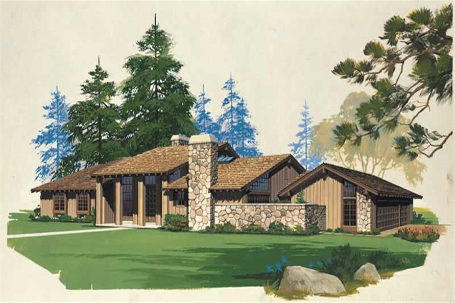 Main image for house plan # 18495