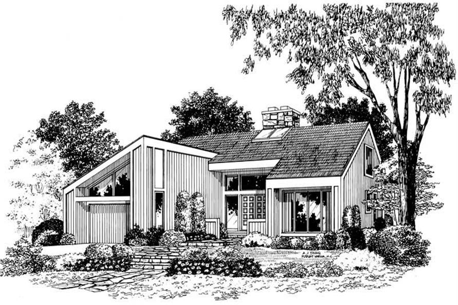 Main image for house plan # 18499