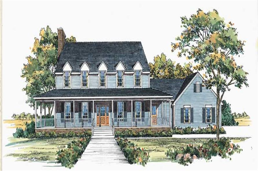 Main image for house plan # 18409