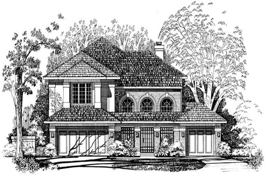 Main image for house plan # 18252