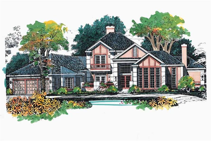 Main image for house plan # 18254