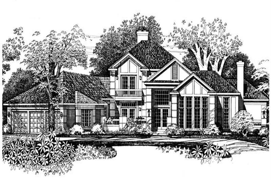 House Plan #137-1295
