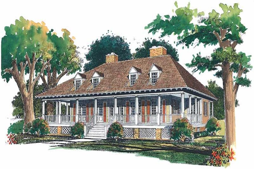 Main image for house plan # 18309