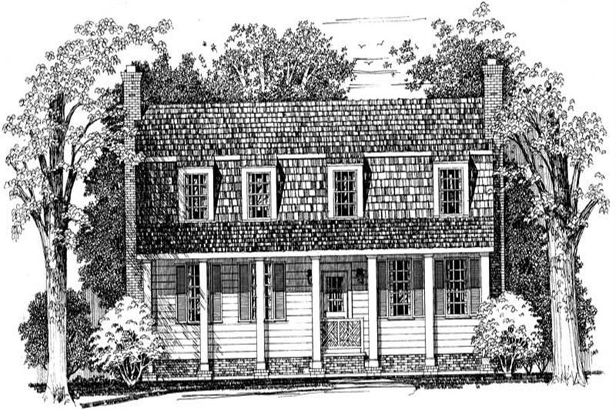 Main image for house plan # 18317