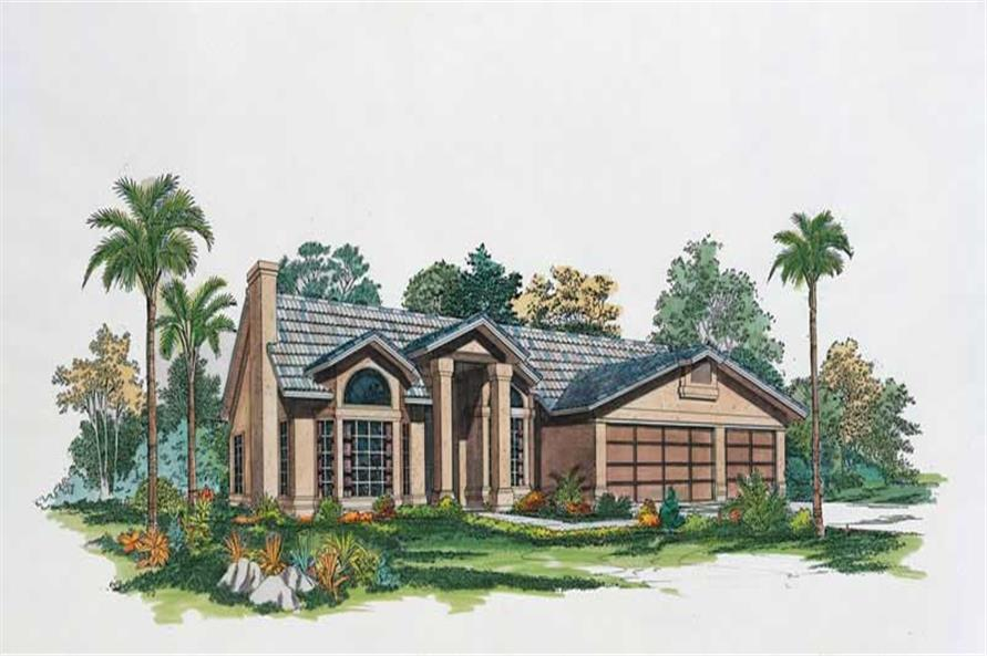 Main image for house plan # 18431