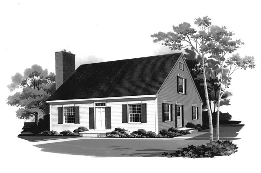 Main image for house plan # 18408