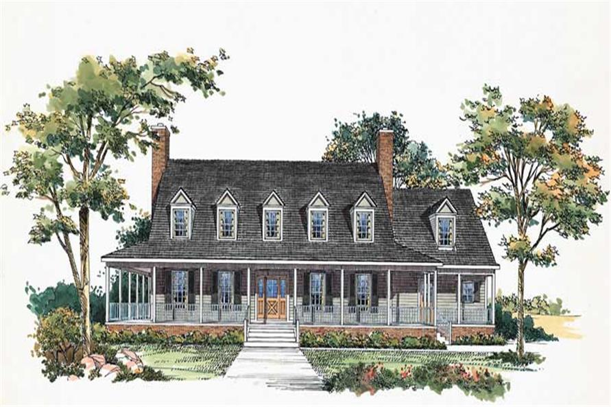 Home Plan Rendering of this 4-Bedroom,3818 Sq Ft Plan -3818