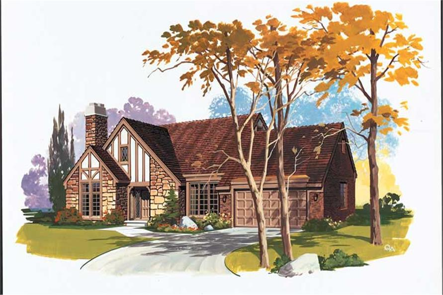 Main image for house plan # 18412