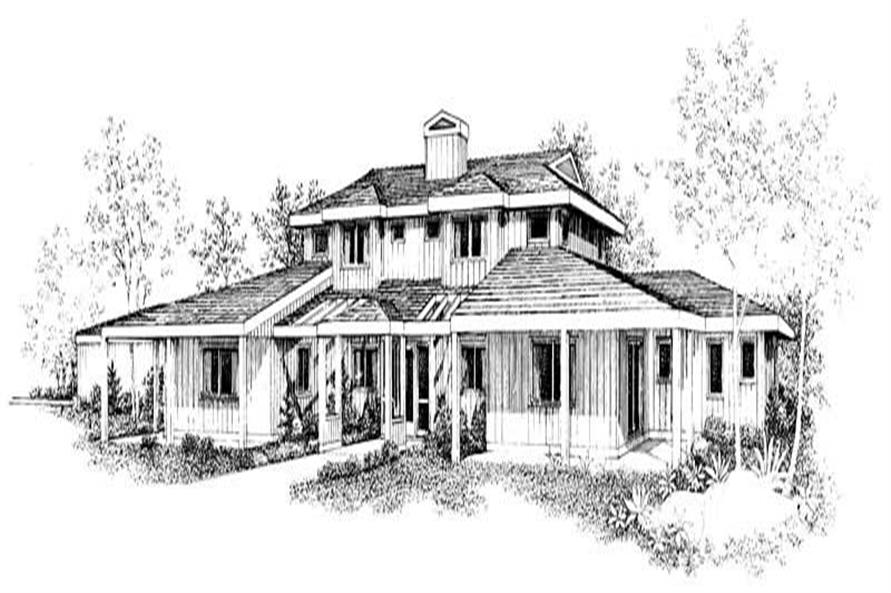 Main image for house plan # 18414