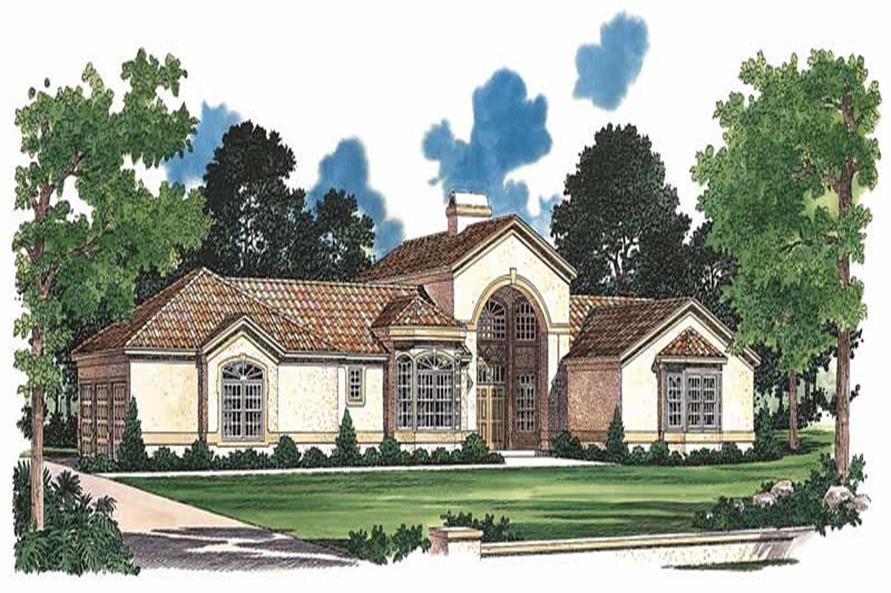 Main image for house plan # 18165