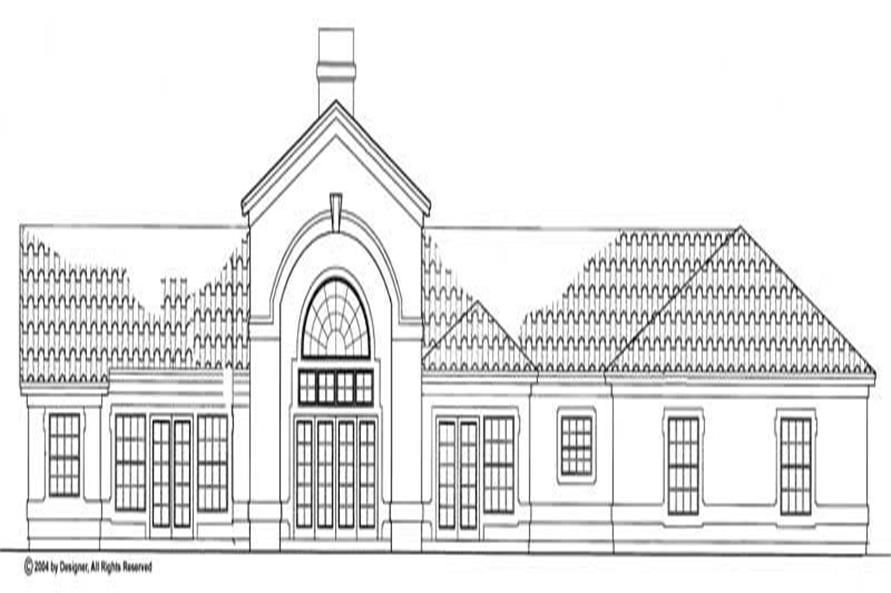 House Plan #137-1311