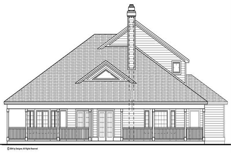 House Plan #137-1312