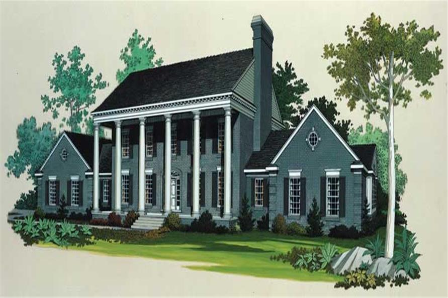 Main image for house plan # 18594