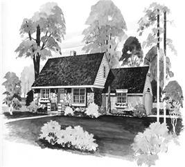 House Plan #137-1323