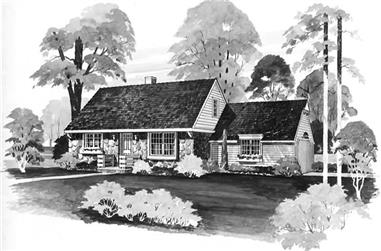 Main image for house plan # 18587