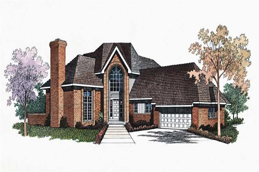 Main image for house plan # 18598