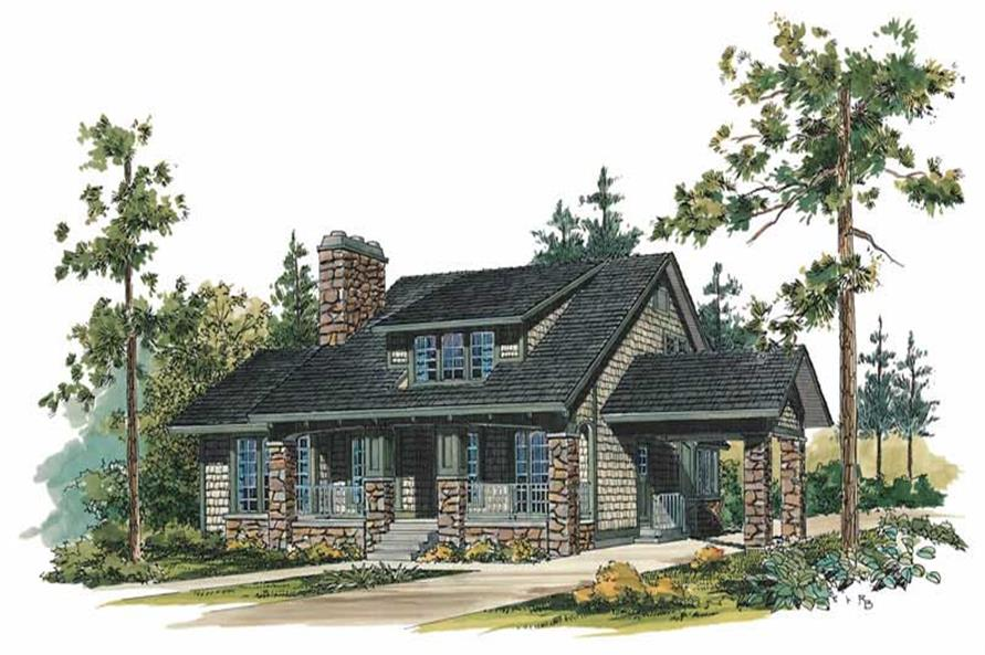 Main image for house plan # 18600