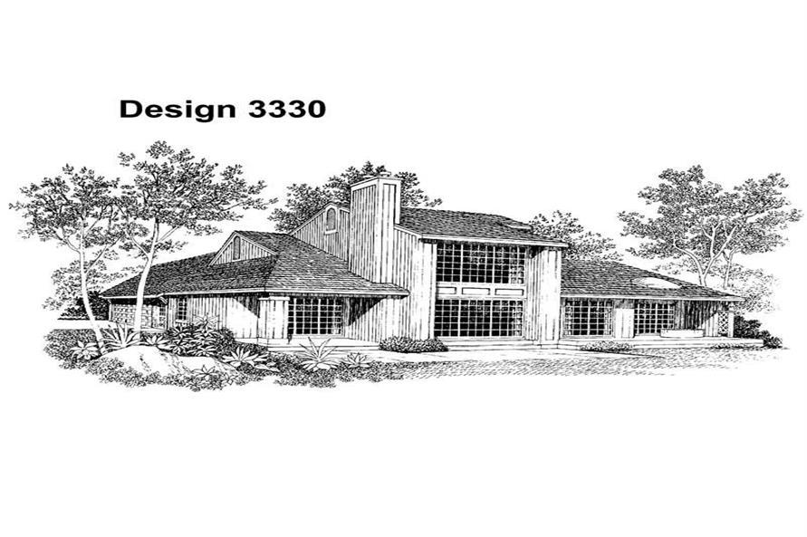 House Plan #137-1333