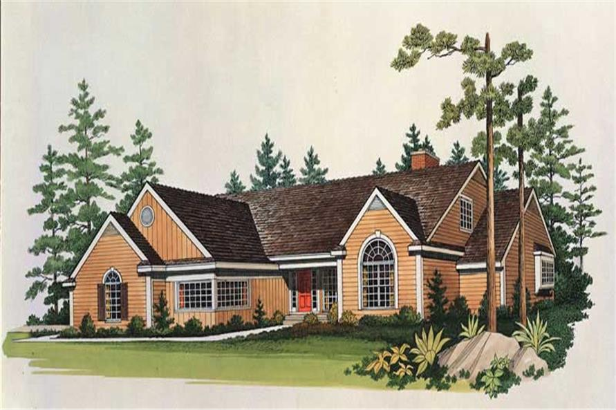 Main image for house plan # 18618