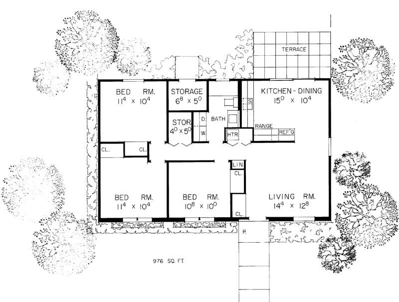 House Plan 137 1336 3 Bedroom Ranch House Plan Home