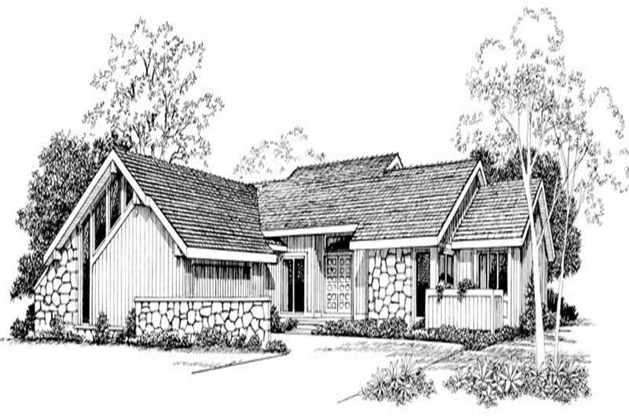 Main image for house plan # 18521