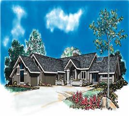 House Plan #137-1339