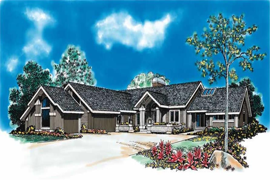 Main image for house plan # 18522