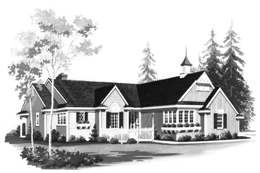Main image for house plan # 18530