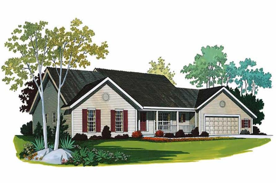 Main image for house plan # 18535