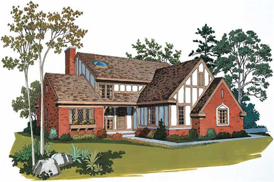 Main image for house plan # 18553