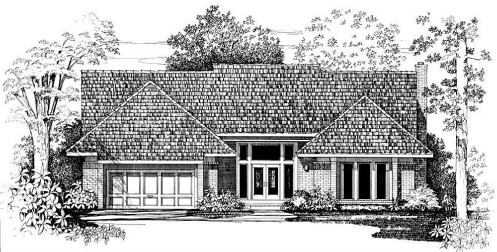 Main image for house plan # 18285