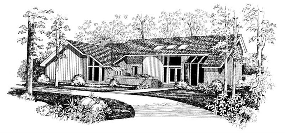 Main image for house plan # 18286
