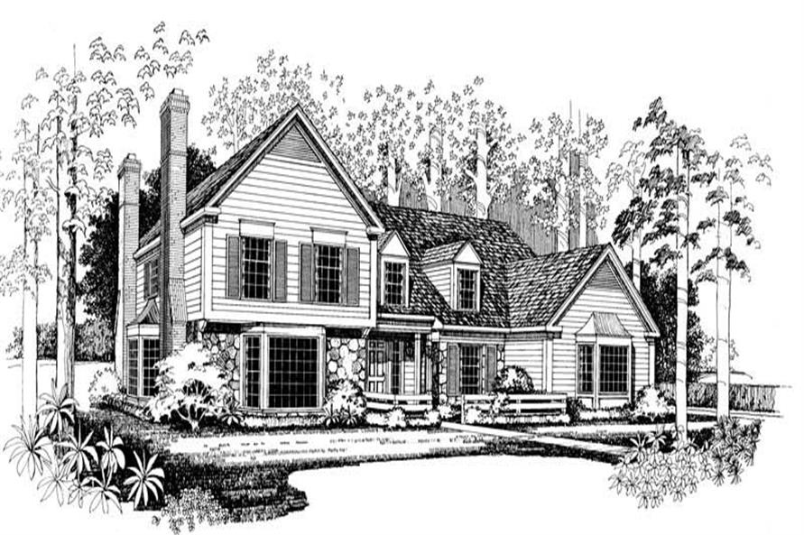 Main image for house plan # 18289